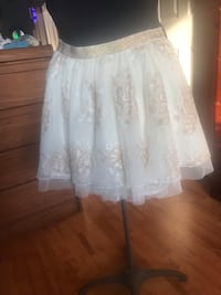 Justice   skirt with shorts size M $15 Windsor, N8P 1N2