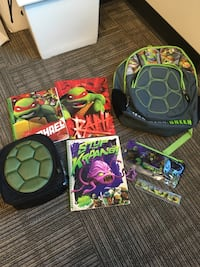 TMNT backpack And lunchbox