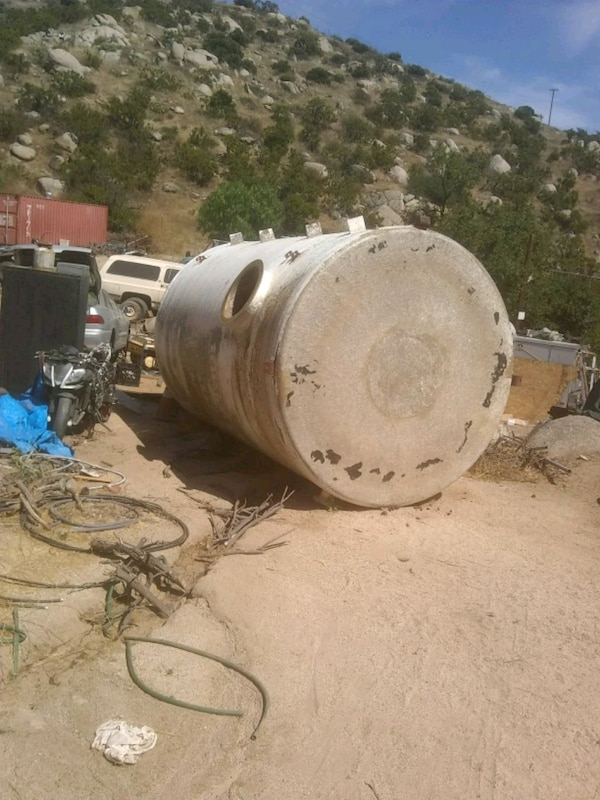 Used 1000 Gallon Water Tank For Sale In Temecula Letgo