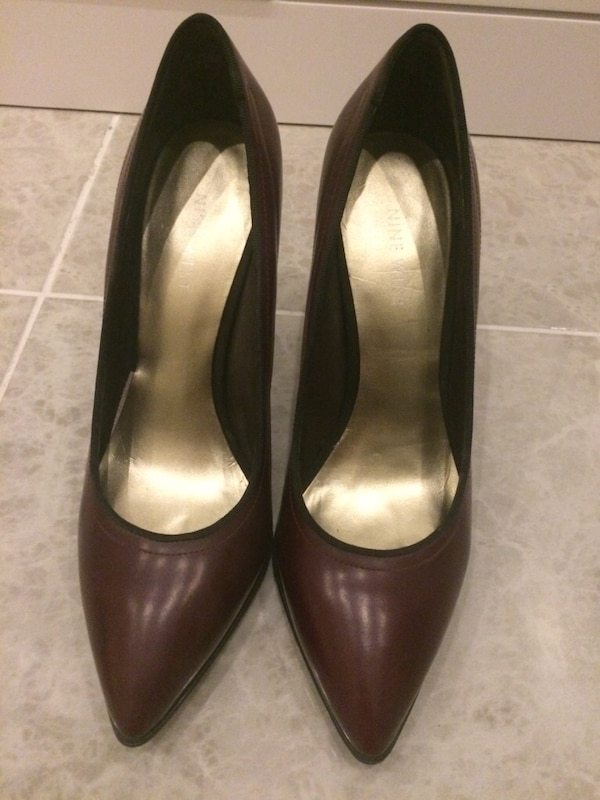 18f873de3f51 Nine West marka bordo stiletto ayakkabı
