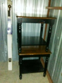 Two wooden end tables   Terrell, 75160