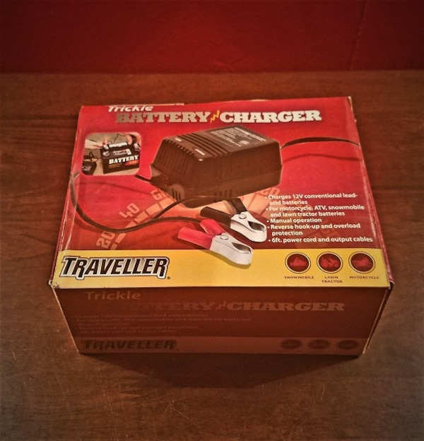 New Traveller Trickle Battery Charger