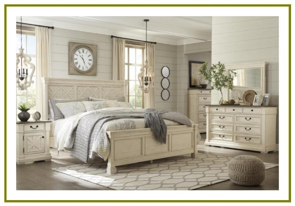 Bedroom Set Chest Dresser Queen King Full Twin Platform Bed Complete