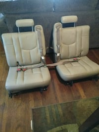 two bagde leather car seats 2004Tahoe Waco, 76707