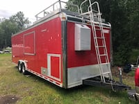 Mobile enclosed commercial barbecue kitchen Palmer, 99645