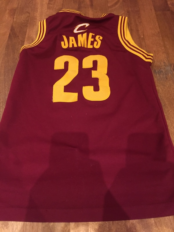 Used Red and yellow 23 lebron james jersey for sale in Côte-Saint ... 8713e02b9