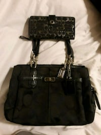 Coach bag with matching wallet Gilbert, 85234