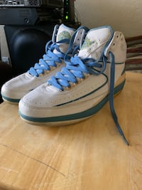 pair of white-and-blue Nike basketball shoes San Tan Valley, 85140