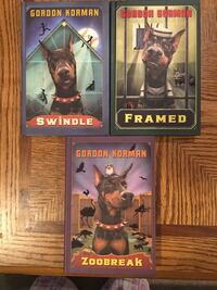 3 New hard cover Gordon Korman novels London, N6H 5A7