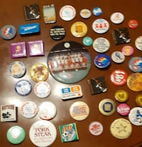 46 Novelty Buttons - assorted see pics for detail Pick-up in Newmarket (ref # Lot # 8 / apps1) Newmarket
