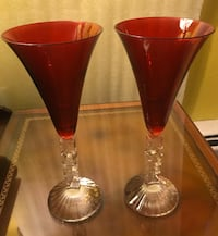 Vintage Noel glasses crystal ! Chicago, 60660