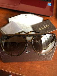black framed Ray-Ban sunglasses with box 45 km