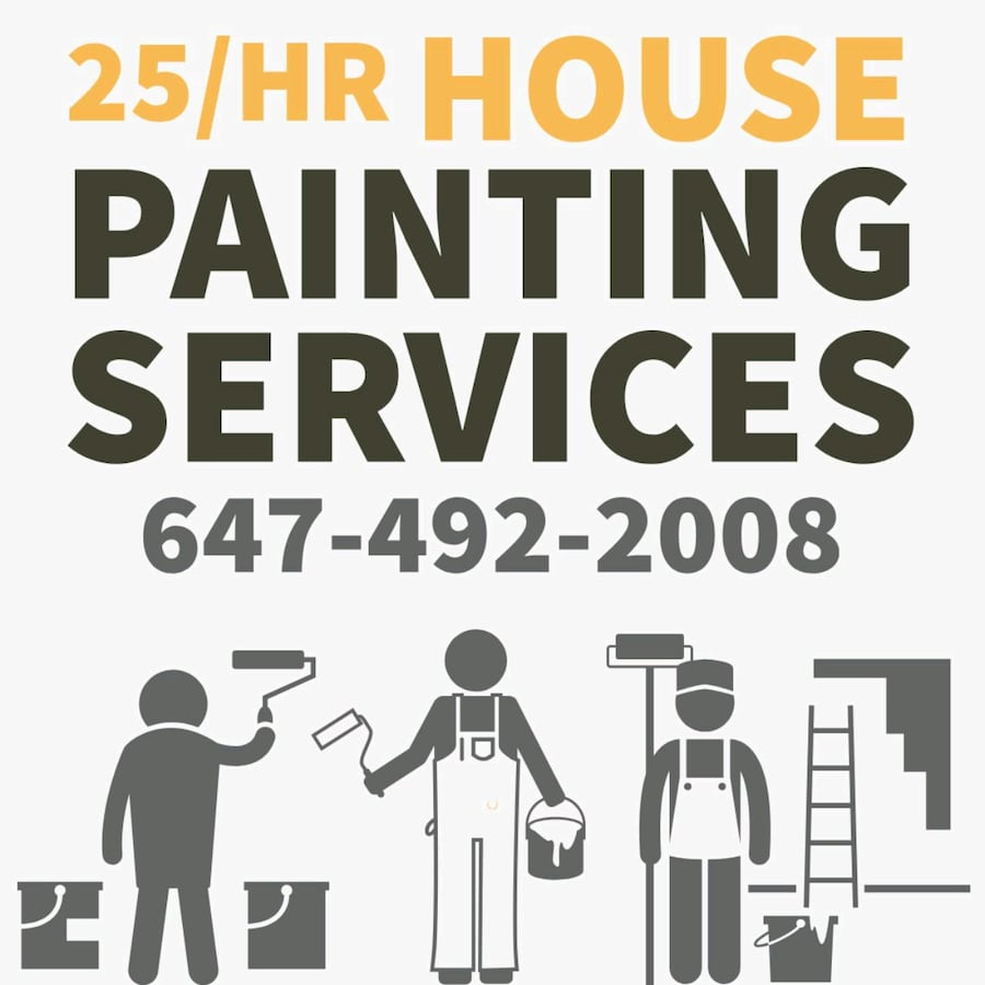 Paint painter painting house home renovation