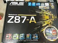 Asus z87a Motherboard Bowie, 20715