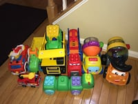 BUNDLE OF 9 TRUCKS/TOYS • OLNEY, MD Olney, 20832