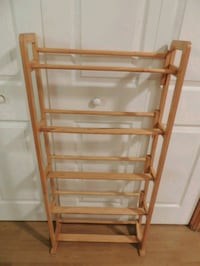 brown wooden 4-layered rack Marne, 49435