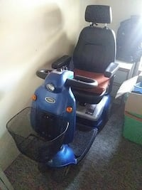 blue and black mobility scooter Vancouver