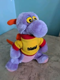 Vintage Figment dragon mini plush walt Disney Toronto, M1C