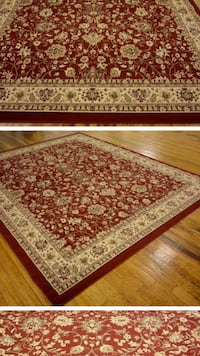 9 x 12 nice new red area rug persian design