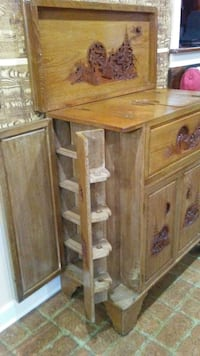 brown wooden cabinet with drawer Little Rock, 72205