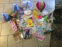 Baby shower everything some new some used all for $5 located off lake mead and jones area  Las Vegas, 89108