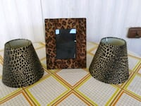 2 Lamp Shades and Picture Frame Polk City, 33868