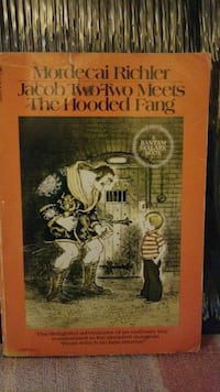 Jacob Two-Two Meets The Hooded Fang by Mordecai Richler book