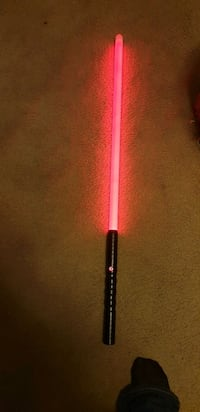 Neopixel lightsaber. Red Blade Washington, 20002