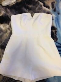 Women's white strapless dress San Francisco, 94110
