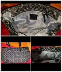 Large Coach purse.  Whitchurch-Stouffville, L4A 7X4