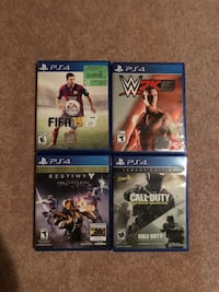 Ps4 games all near to mint condition Toronto, M1S 1V8