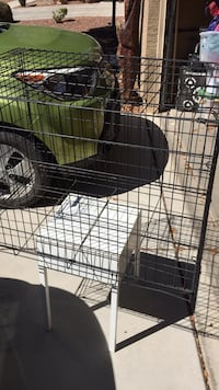 black metal folding dog crate Tucson, 85706