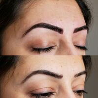 Microblading eyebrows Surrey