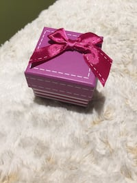 Pink and White Gift Box with Ribbon Toronto, M2N 7G8