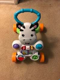 Fisher-Price Learn With Me Zebra Walker Reston, 20190