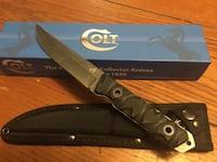 black Colt collector combat knife with sheath and box Punta Gorda, 33983