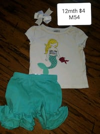 Girls 12mth outfit  Erath, 70533