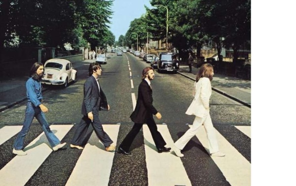 """THE BEATLES - Abbey Road 'Iron On"""""""
