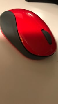 Red and black wireless mouse Commerce Township, 48393