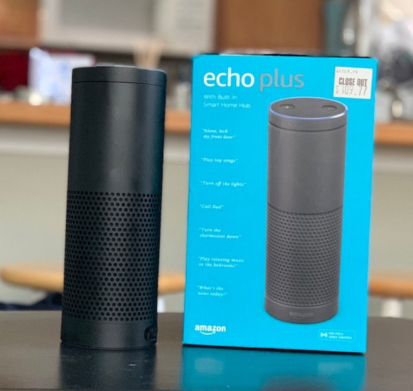 Used Amazon Echo Plus For Sale In Anchorage Letgo