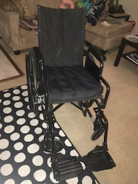 Wheelchair with extension and headrest Oakton, 22124