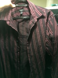 Van Heusen designer brand purple dress shirt