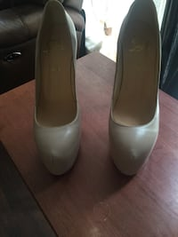 Lou boutin leather heels size 41 Silver Spring, 20906