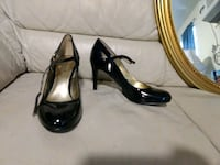 Black patent Nine West heels 7.5 Reno, 89512