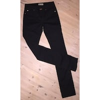 Black Denim bukser Molde, 6415