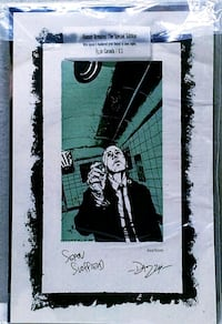 HUMAN REMAINS SPECIAL EDITION & SIGNED PRINT 621/1 Dallas, 75254