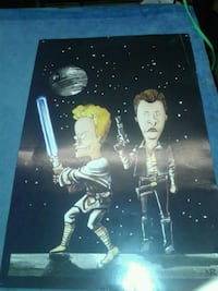 Beevis and butthead starwars poster  Winnipeg, R2V