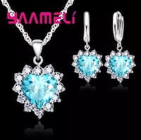 """""""Promotion Price """" 925 Sterling Silver Jewelry Set Mississauga, L5J 2B9"""
