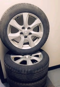 OEM Mazda 3 Rims and Tires