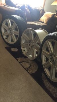18inch rims , without the tiers , or best offer Woodland Park, 07424